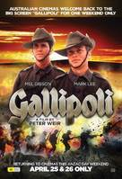 Gallipoli - Australian Re-release poster (xs thumbnail)