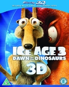 Ice Age: Dawn of the Dinosaurs - British Blu-Ray cover (xs thumbnail)