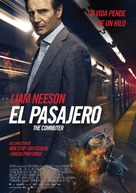 The Commuter - Mexican Movie Poster (xs thumbnail)