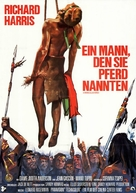 A Man Called Horse - German Movie Poster (xs thumbnail)