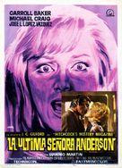 La última señora Anderson - Spanish Movie Poster (xs thumbnail)