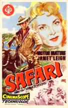 Safari - Spanish Movie Poster (xs thumbnail)