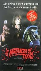 The Texas Chain Saw Massacre - Spanish VHS movie cover (xs thumbnail)