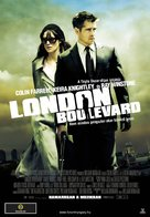 London Boulevard - Hungarian Movie Poster (xs thumbnail)