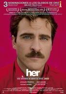 Her - Spanish Movie Poster (xs thumbnail)