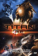 Titan After Earth - Italian DVD cover (xs thumbnail)