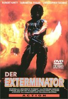 The Exterminator - German DVD movie cover (xs thumbnail)