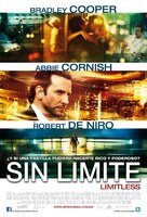 Limitless - Mexican Movie Poster (xs thumbnail)