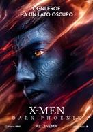X-Men: Dark Phoenix - Italian Movie Poster (xs thumbnail)