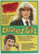 Gregory's Girl - Swedish Movie Poster (xs thumbnail)