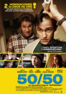 50/50 - Chilean Movie Poster (xs thumbnail)
