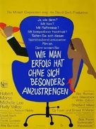 How to Succeed in Business Without Really Trying - German Movie Poster (xs thumbnail)