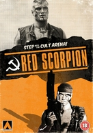 Red Scorpion - British DVD cover (xs thumbnail)