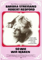 The Way We Were - German Movie Poster (xs thumbnail)
