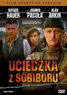 Escape From Sobibor - Polish DVD cover (xs thumbnail)