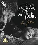 La belle et la bête - British Blu-Ray cover (xs thumbnail)