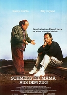 Throw Momma from the Train - German Movie Poster (xs thumbnail)