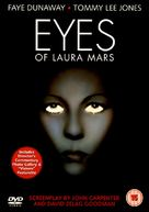 Eyes of Laura Mars - British DVD cover (xs thumbnail)