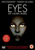 Eyes of Laura Mars - British DVD cover (xs thumbnail)