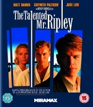 The Talented Mr. Ripley - British Blu-Ray movie cover (xs thumbnail)