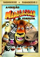 Madagascar - Brazilian DVD movie cover (xs thumbnail)