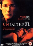 Unfaithful - British DVD movie cover (xs thumbnail)