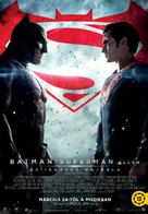 Batman v Superman: Dawn of Justice - Hungarian Movie Poster (xs thumbnail)