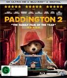 Paddington 2 - New Zealand Blu-Ray movie cover (xs thumbnail)