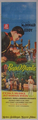 Rose-Marie - Czech Movie Poster (xs thumbnail)