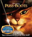 Puss in Boots - Blu-Ray cover (xs thumbnail)
