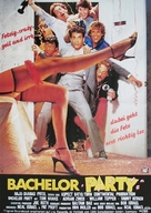 Bachelor Party - German Movie Poster (xs thumbnail)