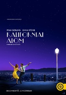 La La Land - Hungarian Movie Poster (xs thumbnail)