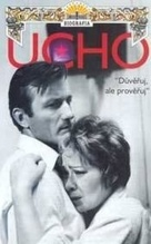 Ucho - Czech Movie Poster (xs thumbnail)