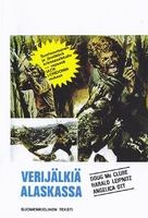 Blutigen Geier von Alaska, Die - Finnish VHS cover (xs thumbnail)