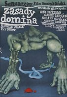 The Domino Principle - Polish Movie Poster (xs thumbnail)