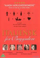 Italiensk for begyndere - Danish DVD cover (xs thumbnail)
