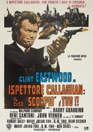 Dirty Harry - Italian Movie Poster (xs thumbnail)