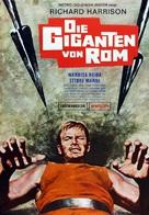 I giganti di Roma - German Movie Poster (xs thumbnail)