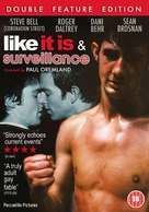 Surveillance - British DVD cover (xs thumbnail)