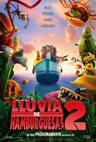 Cloudy with a Chance of Meatballs 2 - Argentinian Movie Poster (xs thumbnail)