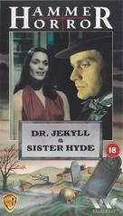 Dr. Jekyll and Sister Hyde - British VHS cover (xs thumbnail)