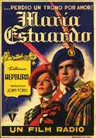 Mary of Scotland - Spanish Movie Poster (xs thumbnail)