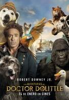 Dolittle - Spanish Movie Poster (xs thumbnail)