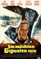 Sometimes a Great Notion - German Movie Poster (xs thumbnail)