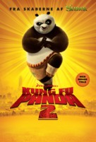 Kung Fu Panda 2 - Danish Movie Poster (xs thumbnail)