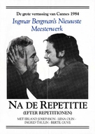 Efter repetitionen - Dutch Movie Poster (xs thumbnail)