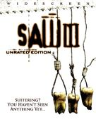 Saw III - DVD movie cover (xs thumbnail)