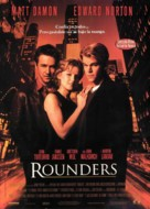 Rounders - Spanish Theatrical movie poster (xs thumbnail)