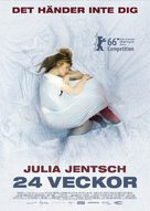 24 Wochen - Swedish Movie Poster (xs thumbnail)