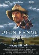 Open Range - German Movie Poster (xs thumbnail)